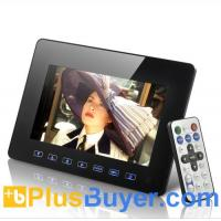 China 7 Inch Digital Multimedia Photo Frame with Remote Control wholesale