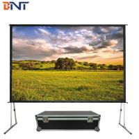 China 72 inch projector screen used in outdoor wholesale