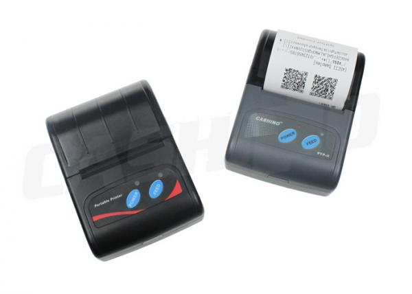 Quality USB Mini Portable Thermal Printer Black Mark Position Support Android Or IOS for sale