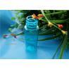 China 18 / 410 Blue Plastic Bottles PE HDPE Cosmetic Plastic Jars 20ml wholesale