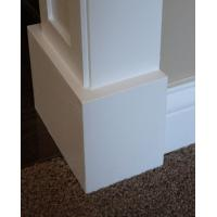 China Economic Mothproof PVC baseboard / skirting board for indoor decoration wholesale