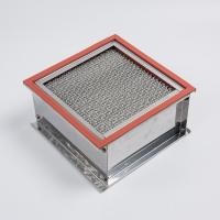 China Large Dust Capacity High Temperature Hepa Filter High Efficiency For Oven on sale