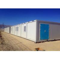 China Anti - Seismic Storage Container Buildings Windbreak Durable For Construction Site on sale