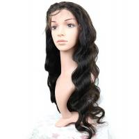 China Brazilian Human Hair Lace Front Wigs Body Wave Full 150% Density wholesale