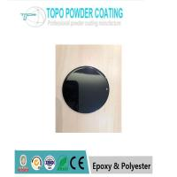 China Safe High  Gloss Polyester Powder Coating RAL9005 Black color For Metal Furniture on sale