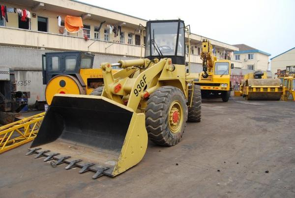 Quality Abundant stock of the used wheel loader 936F, cheap sale for sale