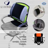 Posture Corrector Alleviates Pain Back Support PU Waist Lumbar Support Cushion For Office Chair