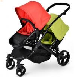 China Twin stroller double stroller pram tandem twin stroller pram pushchair EN1888:2012 on sale