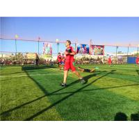 China Decorative Playground Synthetic Grass Indoor / Outdoor High Elasticity wholesale