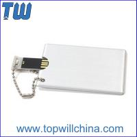 China Metal Card Size Usb Pendrive 8GB 16GB Memory Drive Excellent Price wholesale