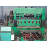 China Durable Expanded Mesh Machine , Heavy Duty Expanded Metal Equipment For Road Protection wholesale