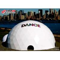 Buy cheap Custom White Geodesic Dome Ballroom Tent Factory In Fastup Tent from wholesalers