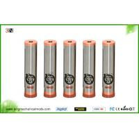China 510 Thread Stainless Steel Mechanical Mod 18650 Battery 96mm Length wholesale