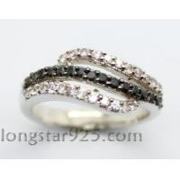 China 925 sterling silver ring, lady's fashion ring wholesale