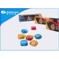 China Colorful Printing Personalized Chocolate Foil Wrappers Coloured Foil For Wrapping Chocolates wholesale