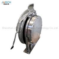 China Oil Tank Floating Coil Hose Reel Disk Placing Static Electricity / Lightning Protection on sale