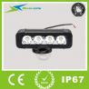 "China 8"" 40W High intensity LED work light bar for Vehicles 4050 Lumen WI-9011-40 wholesale"