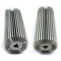 Natural Oxidation Treatment Aluminum Heatsink Extrusion Profiles For Radiator for sale