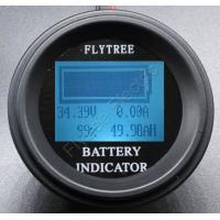 200V400A Round Coulometer lithium LiFePO4 battery real capacity LCD electric parameter meter coulomb with external shune
