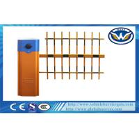China Car Parking Vehicle Barrier Gate 6 second With Three  Fence Boom Length 6M wholesale
