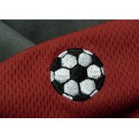 Buy cheap Tatami Material Clothing Brand Embossed Patch For Soccer Team from wholesalers