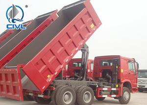 China 371hp EuroII Sinotruk HOWO7 New dump Tipper truck 20M3 Container with 1 sleeper and air condition spare tire wholesale