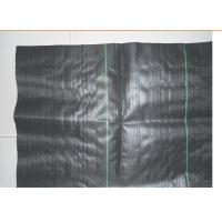 China Black Split Yarn Flat Slik PP Woven Geotextile For Anti Leakage Filtering Of Dam on sale
