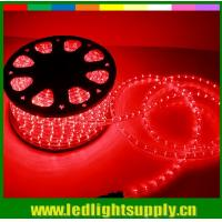 China flexible arm red led lights 2 wire outdoor christmas rope lights wholesale