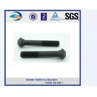 China ZhongYue railway DIN 933 oval head bolts screw rail bolts with competitive price on sale