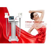 China 3 In 1 Rf And Cavitation Slimming Machine , Weight Loss Laser Lipo Equipment on sale