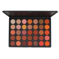 China Professional Makeup High Pigment 35 Colors All Matte Eyeshadow Palette wholesale