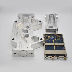 China Custom Spare Precision CNC Machined Aluminum Parts For Electronics Equipment wholesale