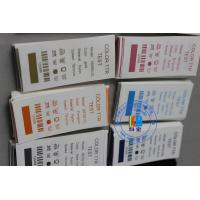 Barcode serial number printing printed Polyamide nylon taffeta satin care label for Laundry shop chain