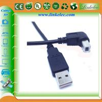 China cabo de impressora de carregamento do usb do ângulo do cabo do usb wholesale
