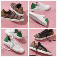 China Leaves Design Shoes Box Pharrell Williams Adidas Originals Slip On Indian Casual Shoes Men & Women Sneakers Mesh Soft wholesale