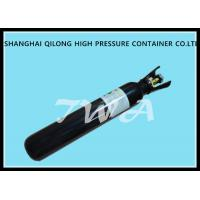 Buy cheap Black / White Industrial Stainless Steel Gas Bottle Co2 N2o 46.7L from wholesalers