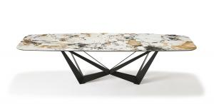 China Custom Made Marble Modern Dining Room Tables For Hotels / Apartments wholesale