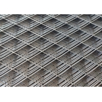 China 10*20mm Hole Galvanized Stainless Steel Diamond Mesh For Buiding wholesale
