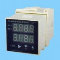 China Time and Count Control Instrument with Double Row Four LED Display, Suitable for Automation System wholesale