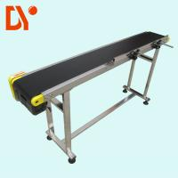 China DY153 Heat Resistant Troughed Belt Conveyor , Customized Simple Conveyor System on sale