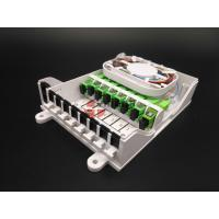 Buy cheap Indoor 8 Ports CPE Fiber Optic Distribution Terminated Cable Joint Box Wall from wholesalers