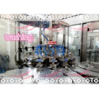 China Automatic Drinking Water Bottle Filling Machine With Labour / Energy Saving on sale