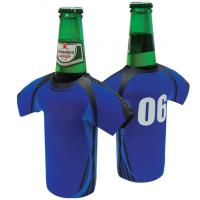 China Hot-selling High quality Neoprene Beer Koozie ,Cans holder Beer bag In T-shirt Design wholesale