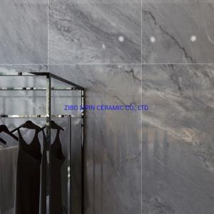 China Hot Sale Dark Grey Glossy Glazed Porcelain Tiles (60X120) for Home Decoration on sale