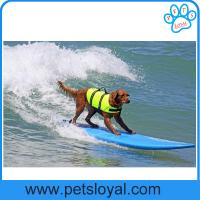 China Pet Product Supply Cheap High Quality Colorful Dog Life Jacket China Factory wholesale