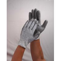 China Gray Nylon Nitrile Coated Glove With PVC Dotted For Working wholesale