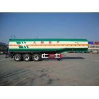 China 2018 new truck semi trailers fuel tanks for sale with tool box wholesale