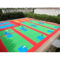 China Super Flexible Non Skid Modular Floor Covering Patented Low Maintenance Cost wholesale