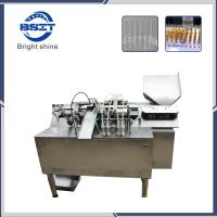 China AFS-4 1ml ampoule fill seal machine with PLC control + Peristaltic pump filling system wholesale