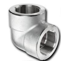China ASTM B466 UNS C70600 CuNi 90/10 Forged Pipe Fittings , 90 Degree Butt Welding Elbow wholesale